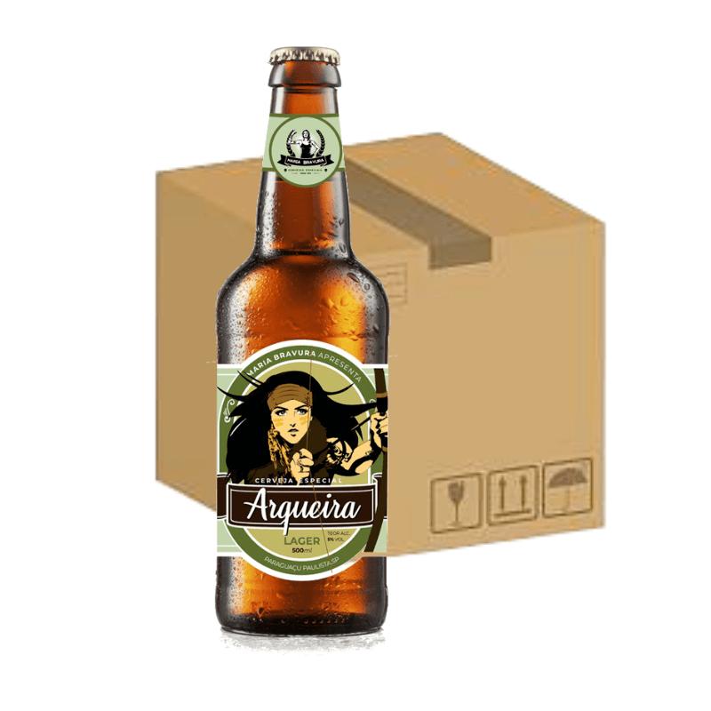 Cerveja Arqueira 500ml - Caixa com 12 Unidades