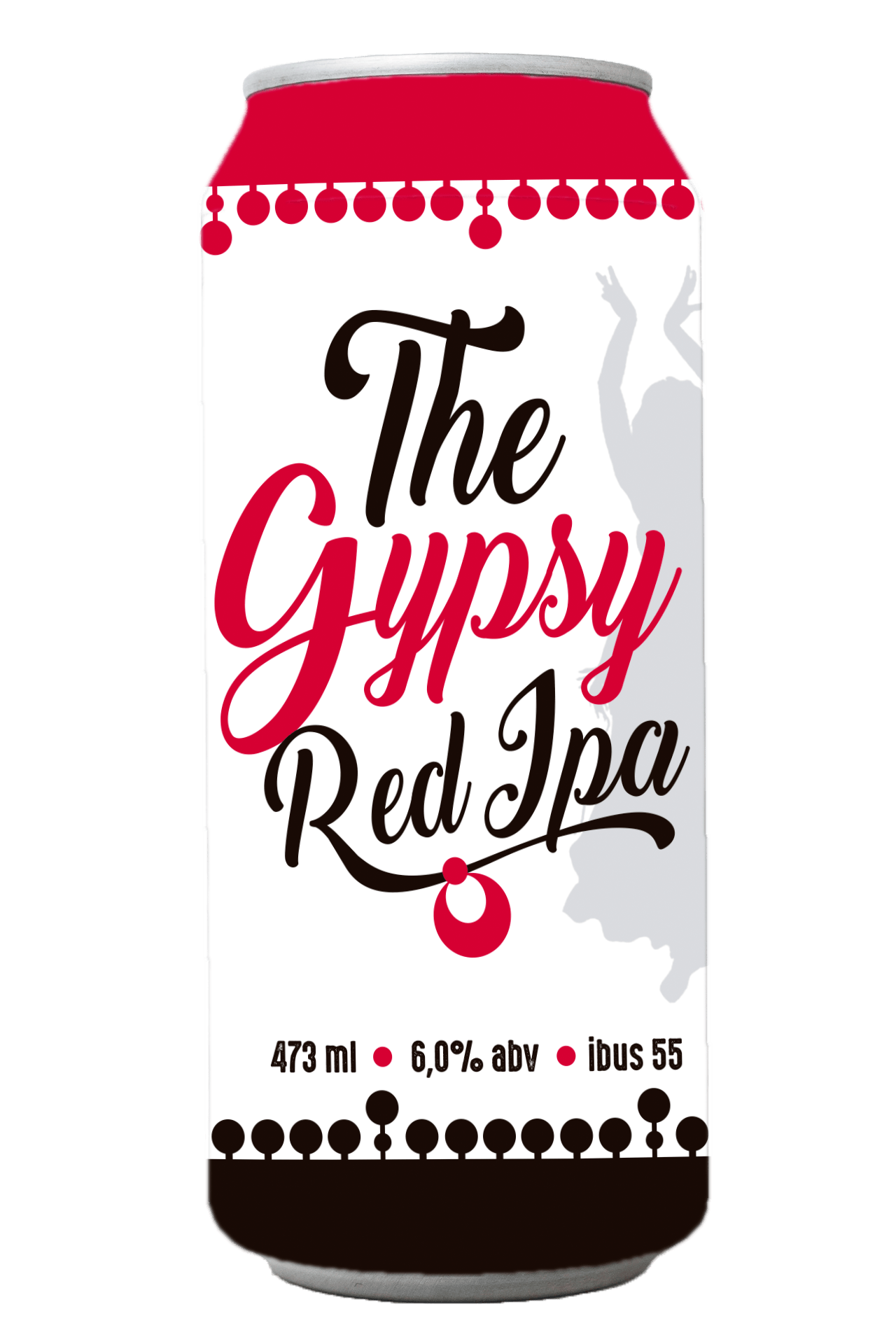 Cerveja Cigana The Gypsy Red IPA 473ml