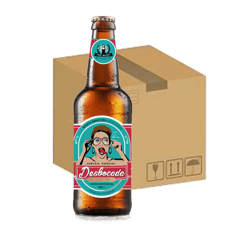 Cerveja Desbocada 500ml - Caixa com 12 unidades