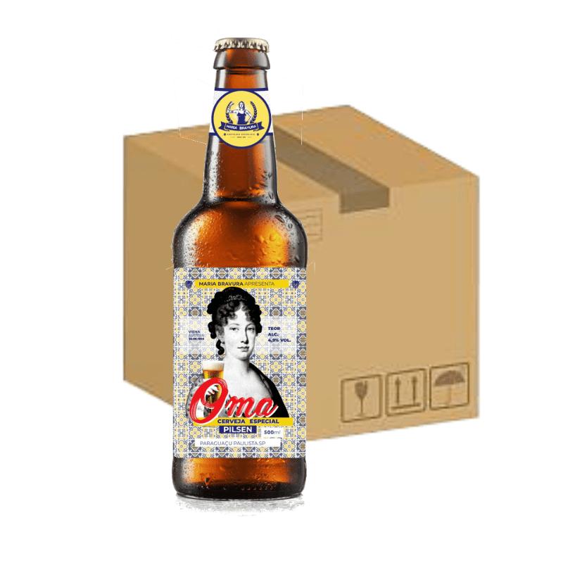 Cerveja Oma 500ml - Caixa com 12 Unidades