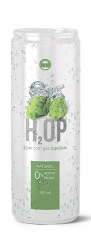 H2OP Água Lupulada - Lata 350ML