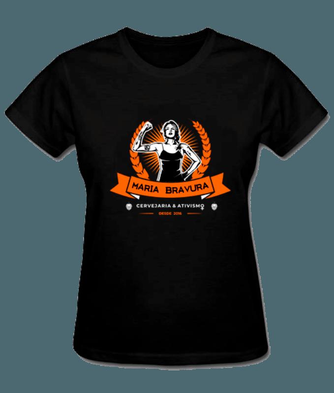 Camiseta Maria Bravura de Malha Esportiva