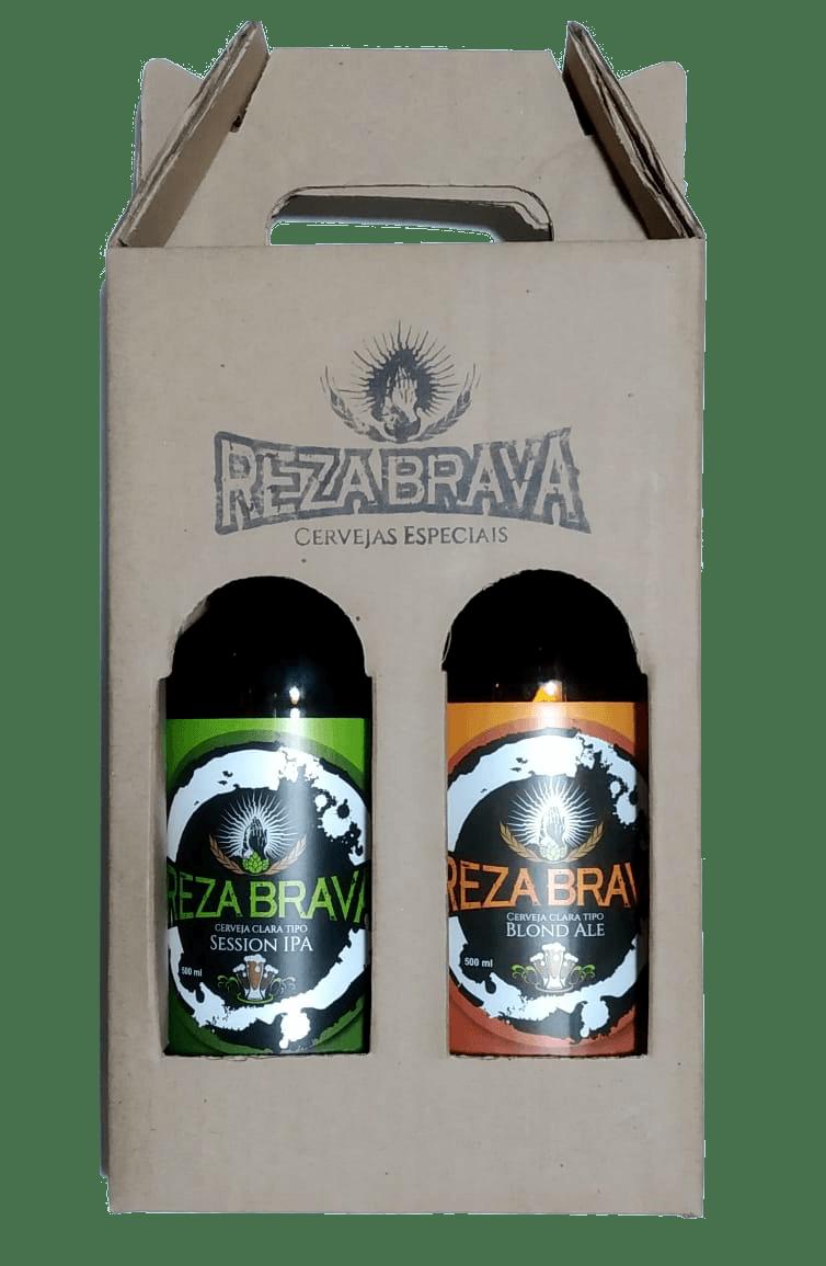 Kit Reza Brava 2 Cervejas
