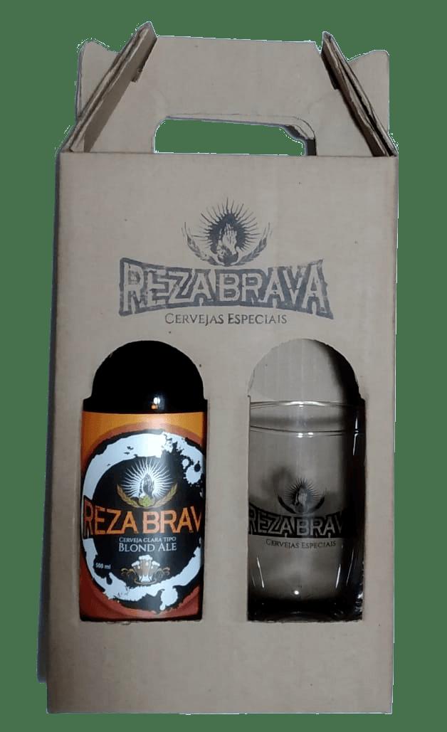 Kit Reza Brava Blond Ale + Copo Caldereta