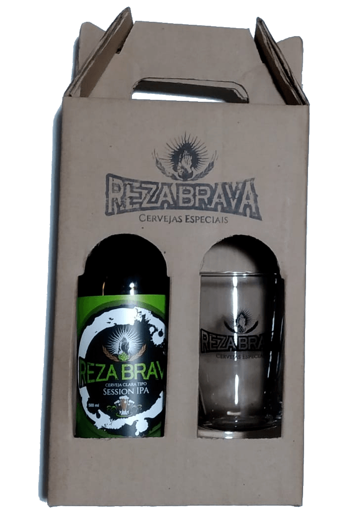 Kit Reza Brava Session IPA + Copo Caldereta