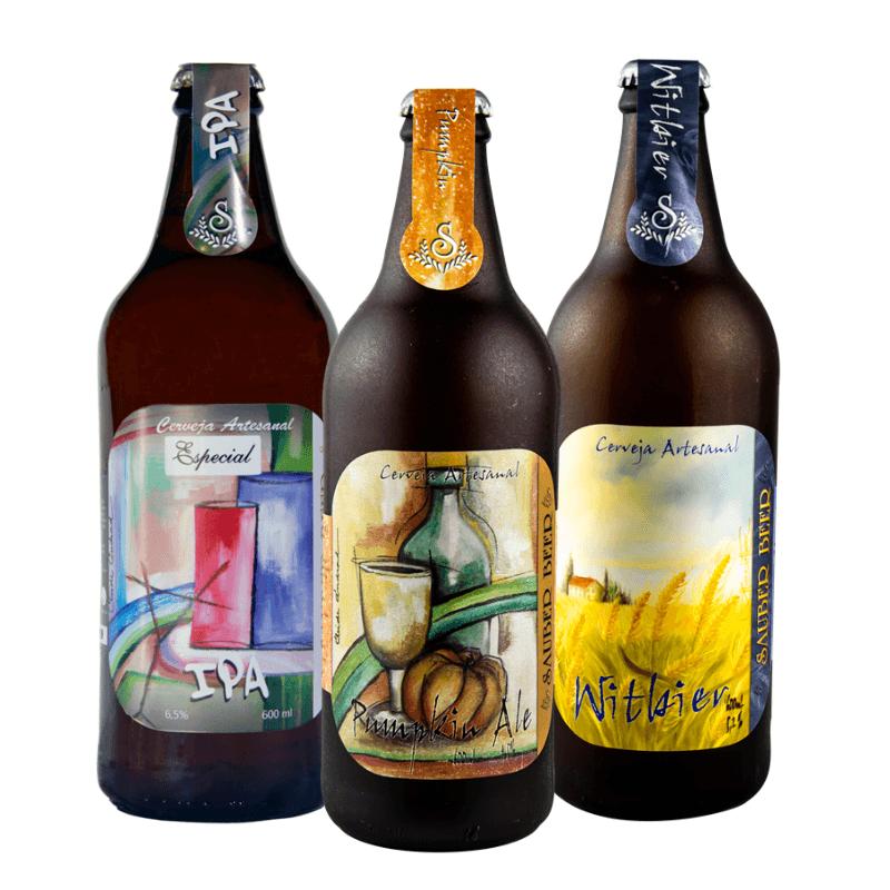 Pack Sauber Beer 3 Estilos