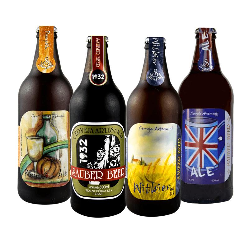 Pack Sauber Beer 4 Estilos