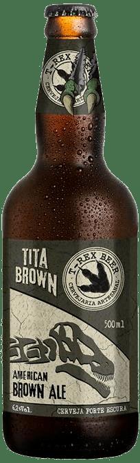T-Rex Beer Tita Brown 500ML