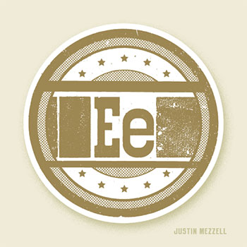 Love Letters for the Hamilton Wood Type & Print Museum: E by Justin Mezzell