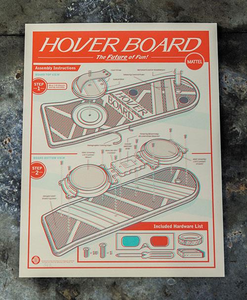 Clark Orr: 3D Hoverboard