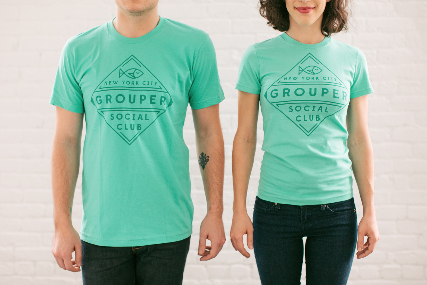 Grouper t-shirts and hats by Real Thread