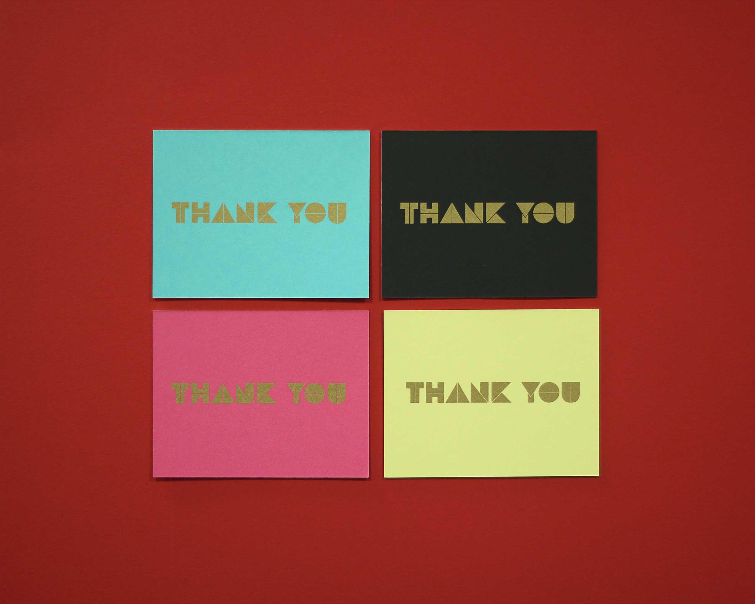 Michelle LaRocca screen printed note cards