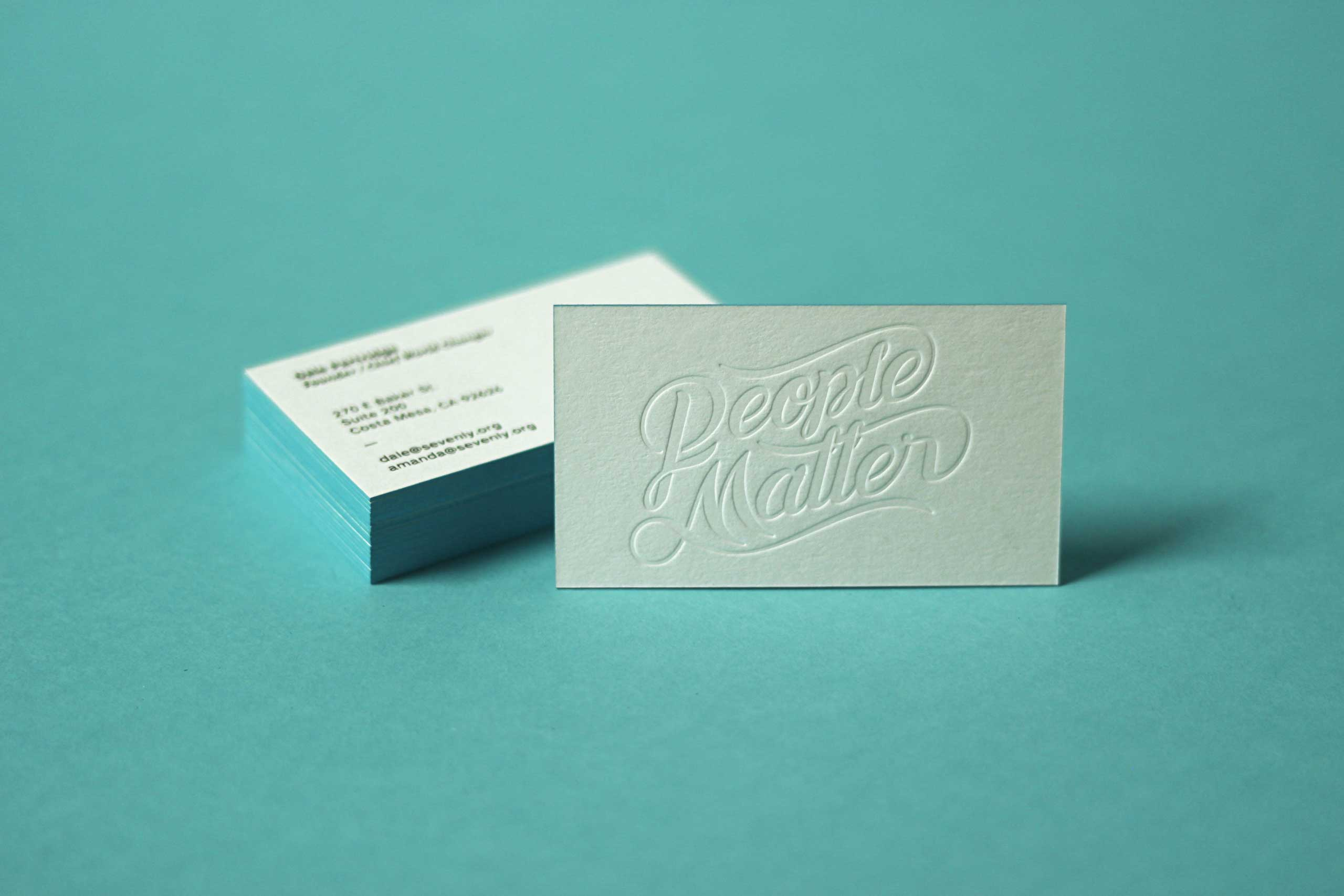 Sevenly Business Card