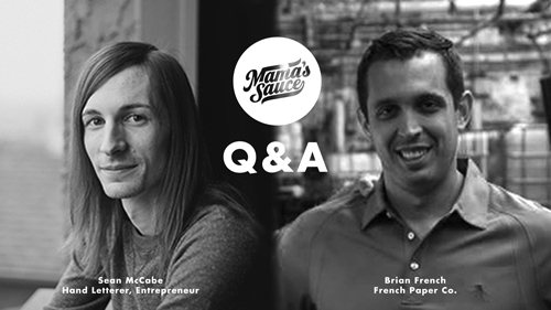 Q & A with Sean McCabe & Brian French