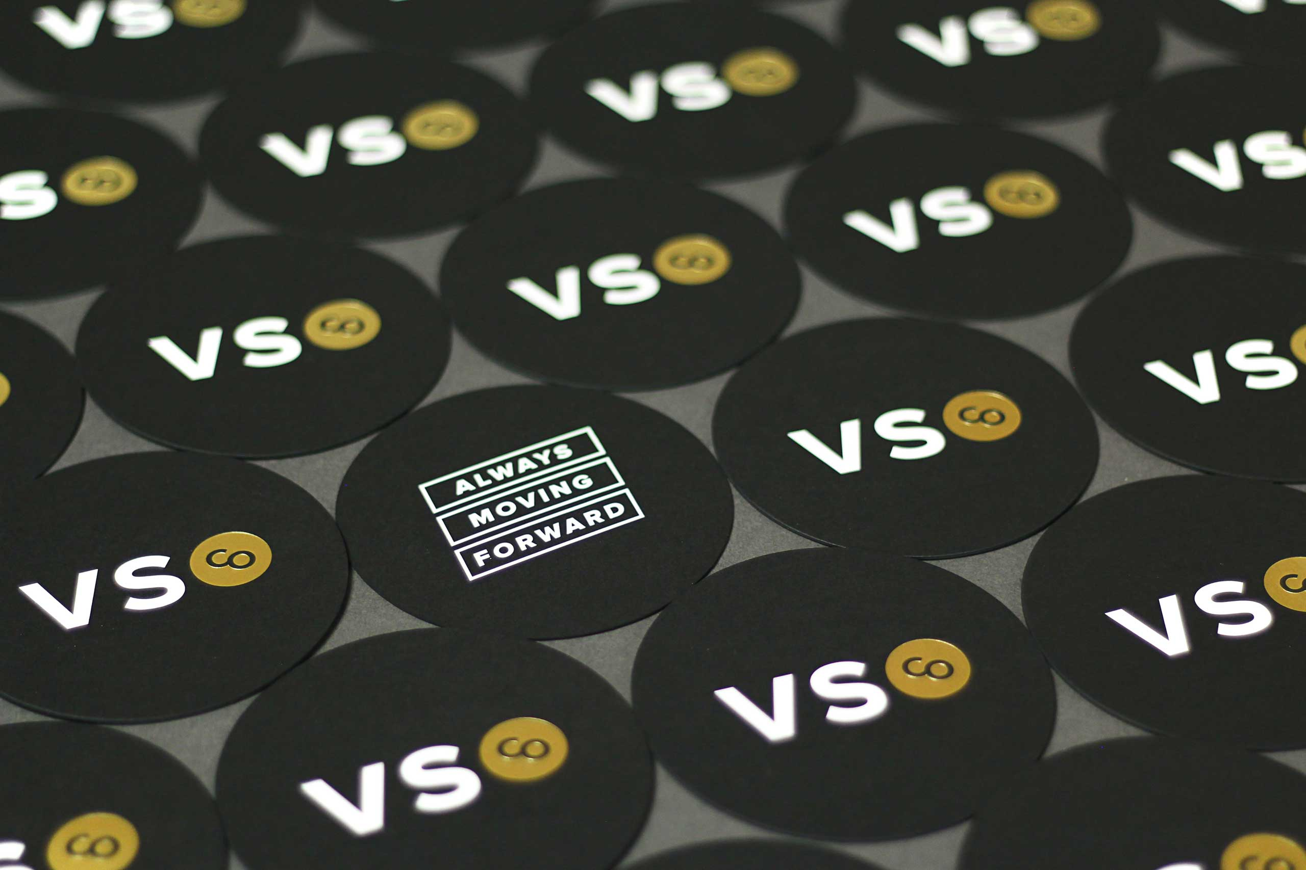 VSCO Moving Forward foil Coasters