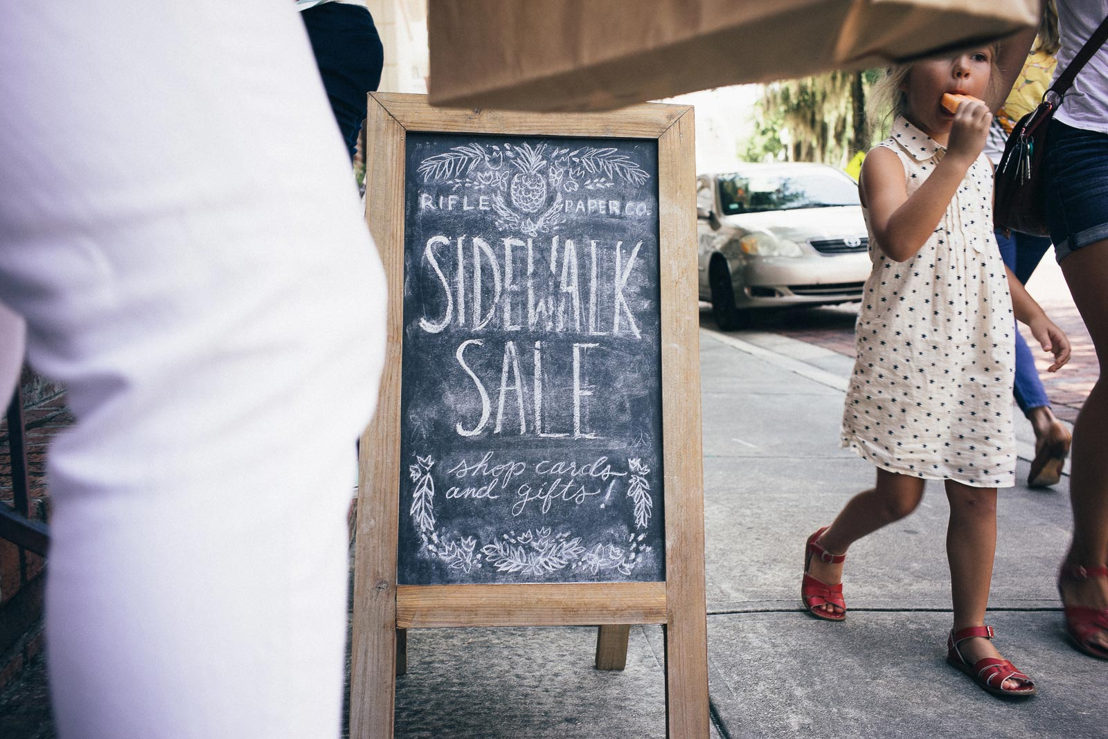 Mama's Sauce and Rifle Paper Co. Sidewalk Sale