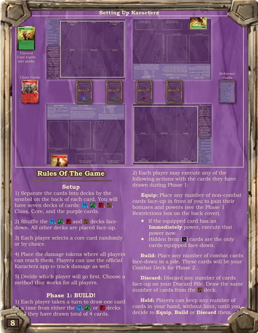 Rulebook Progress Page 01