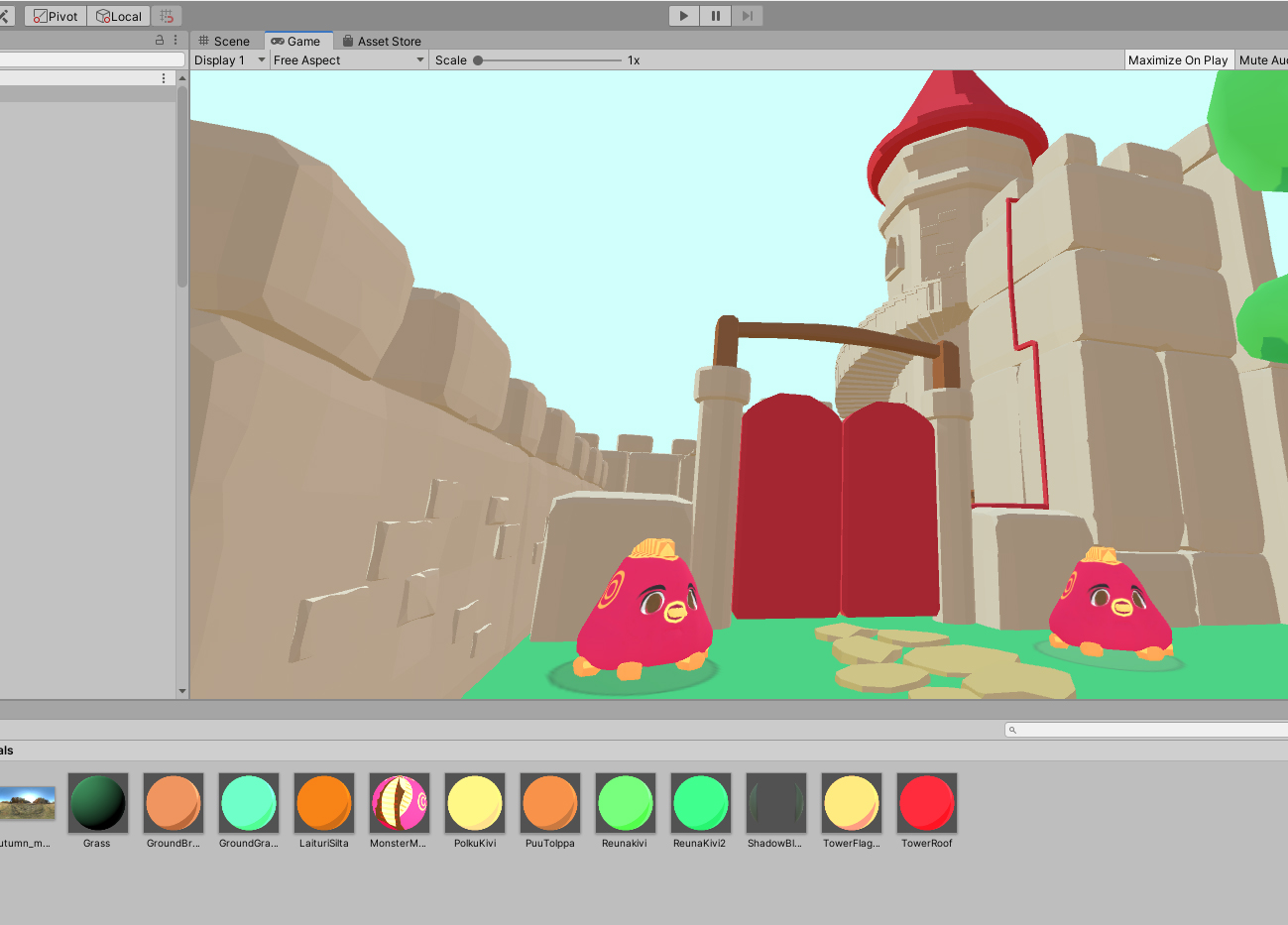 shader in unity testing