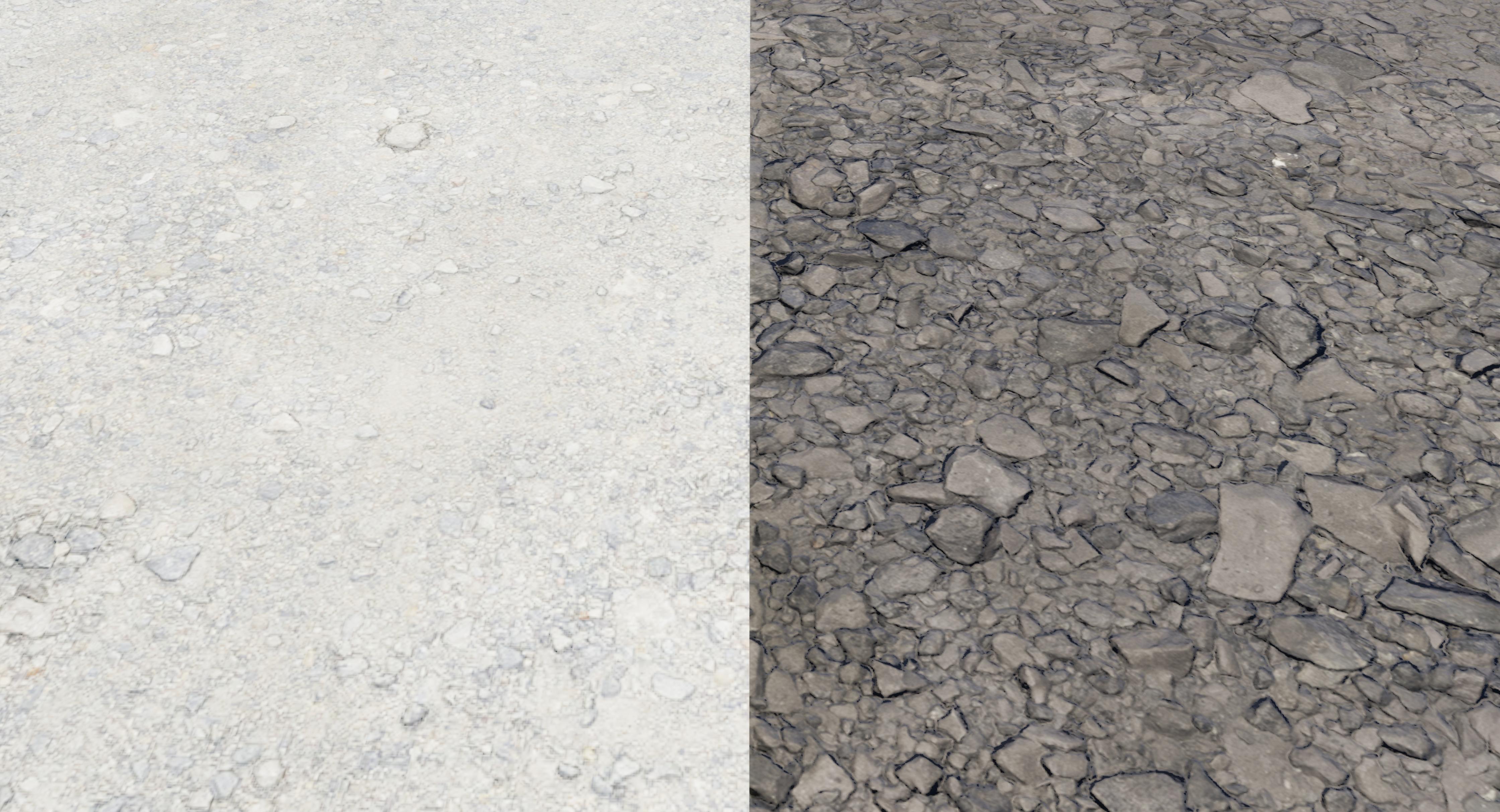 Old Gravel vs New Gravel