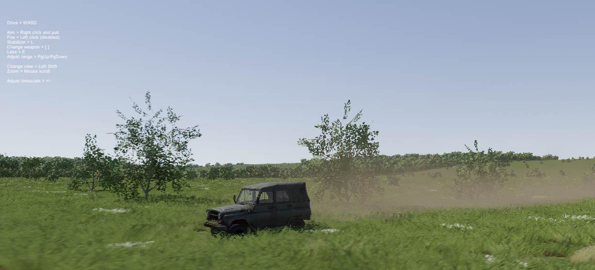 UAZ-469 driving