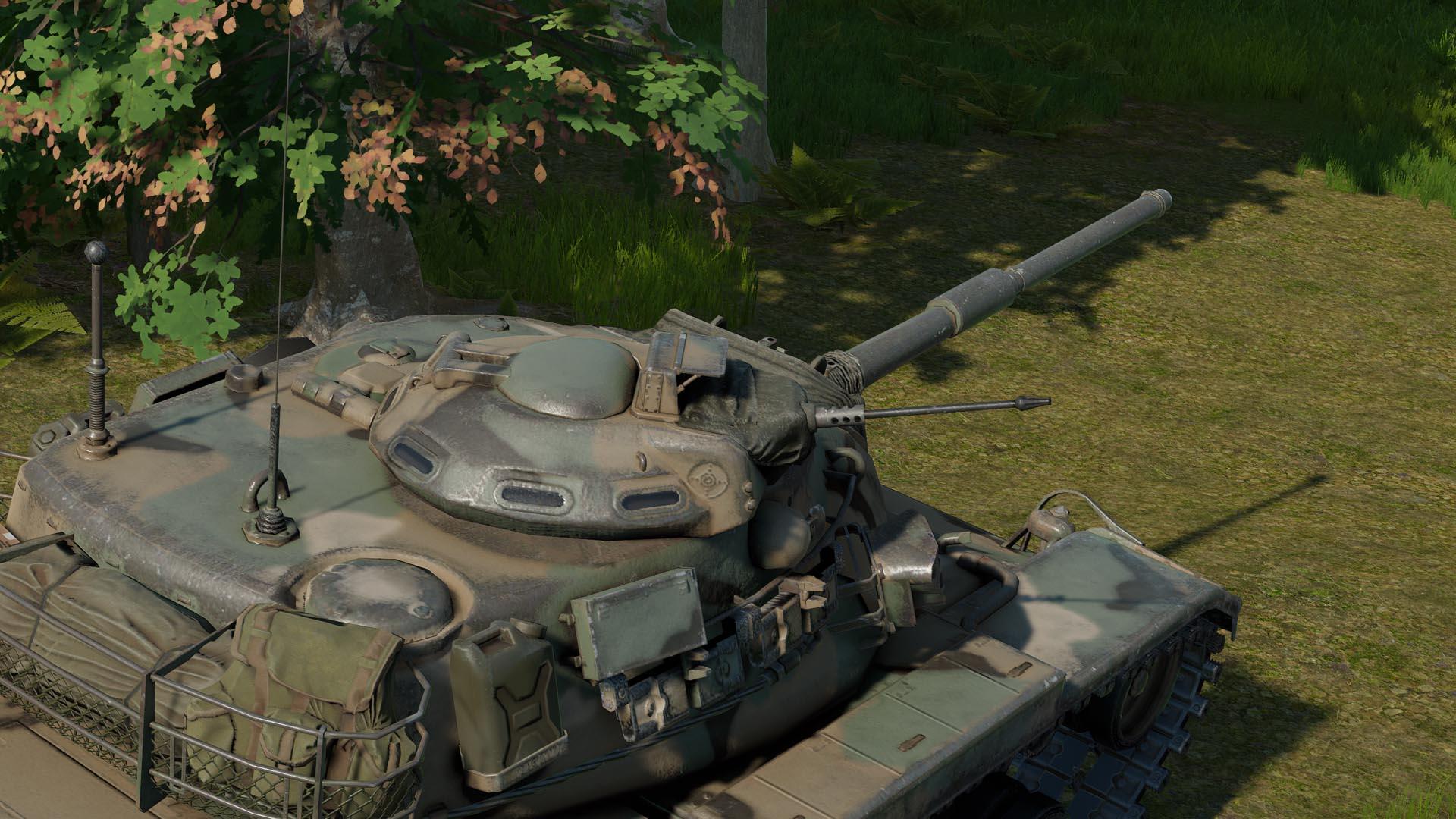 M60A3 TTS with M85 cupola gun