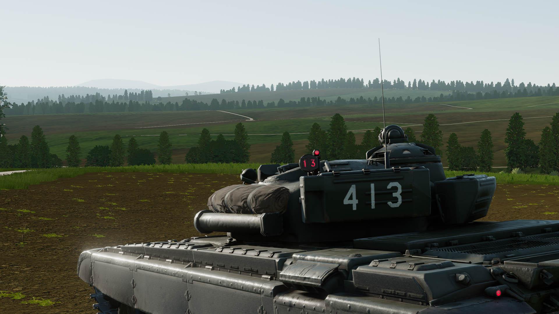 T-72 rear view