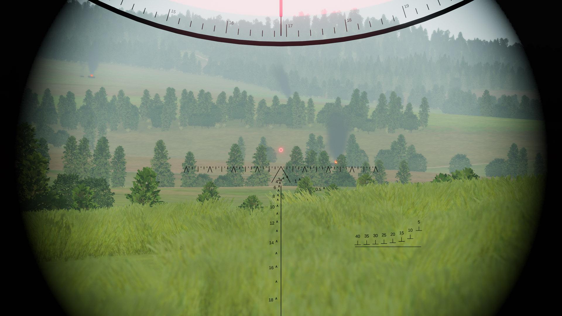 TPD-K1 gunner's view