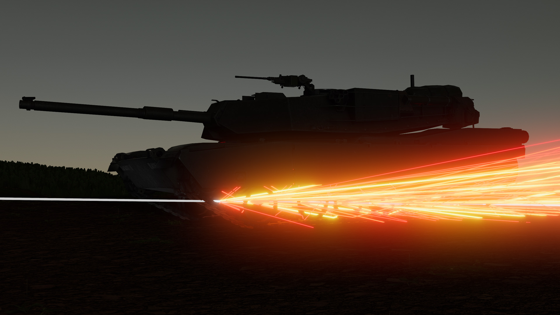 M1IP hit spalling in AAR mode