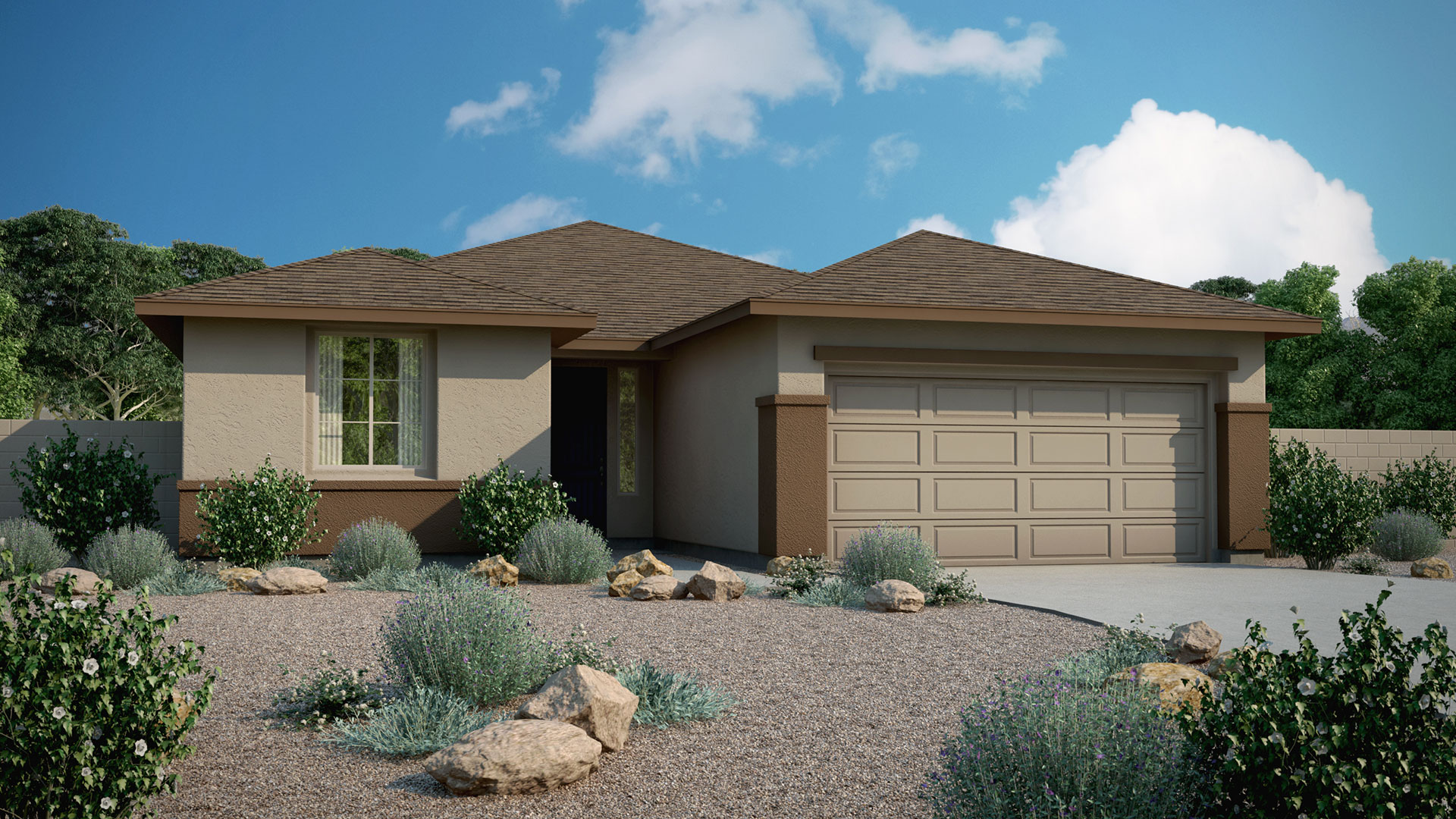 Frontier Floor Plan In Canyon Oaks At Highlands Ranch