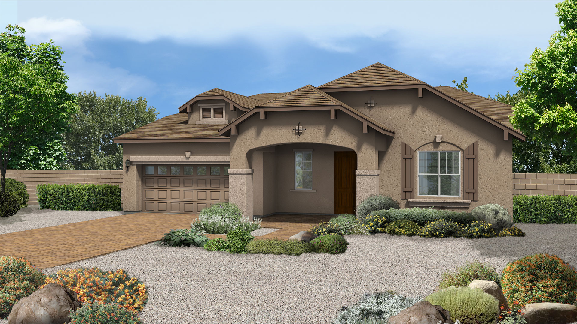 Aspen floor plan in canyon meadows at highlands ranch for Aspen house plans