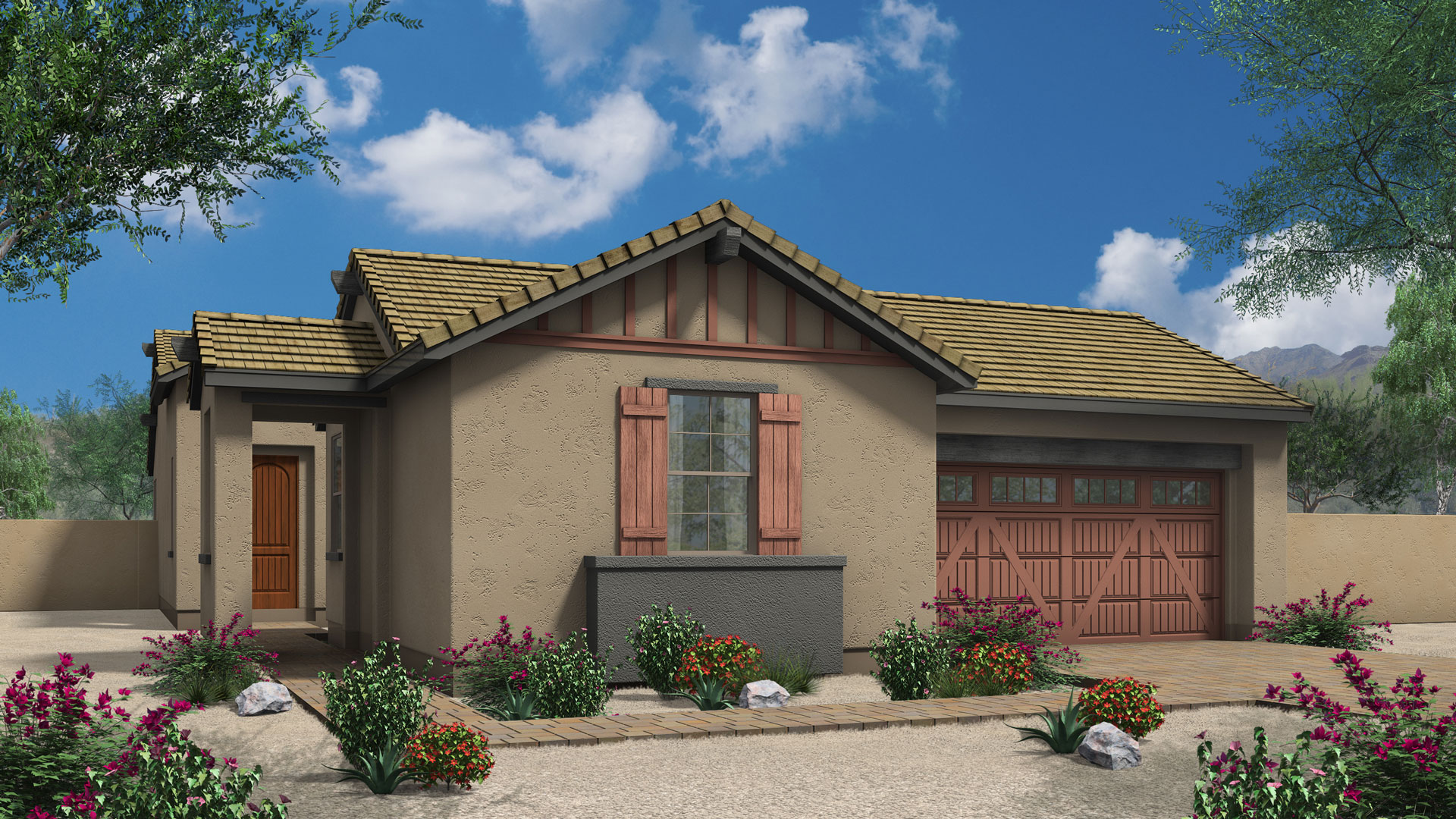 Star Gazer Cathedral Point on Arizona Traditions Floor Plans