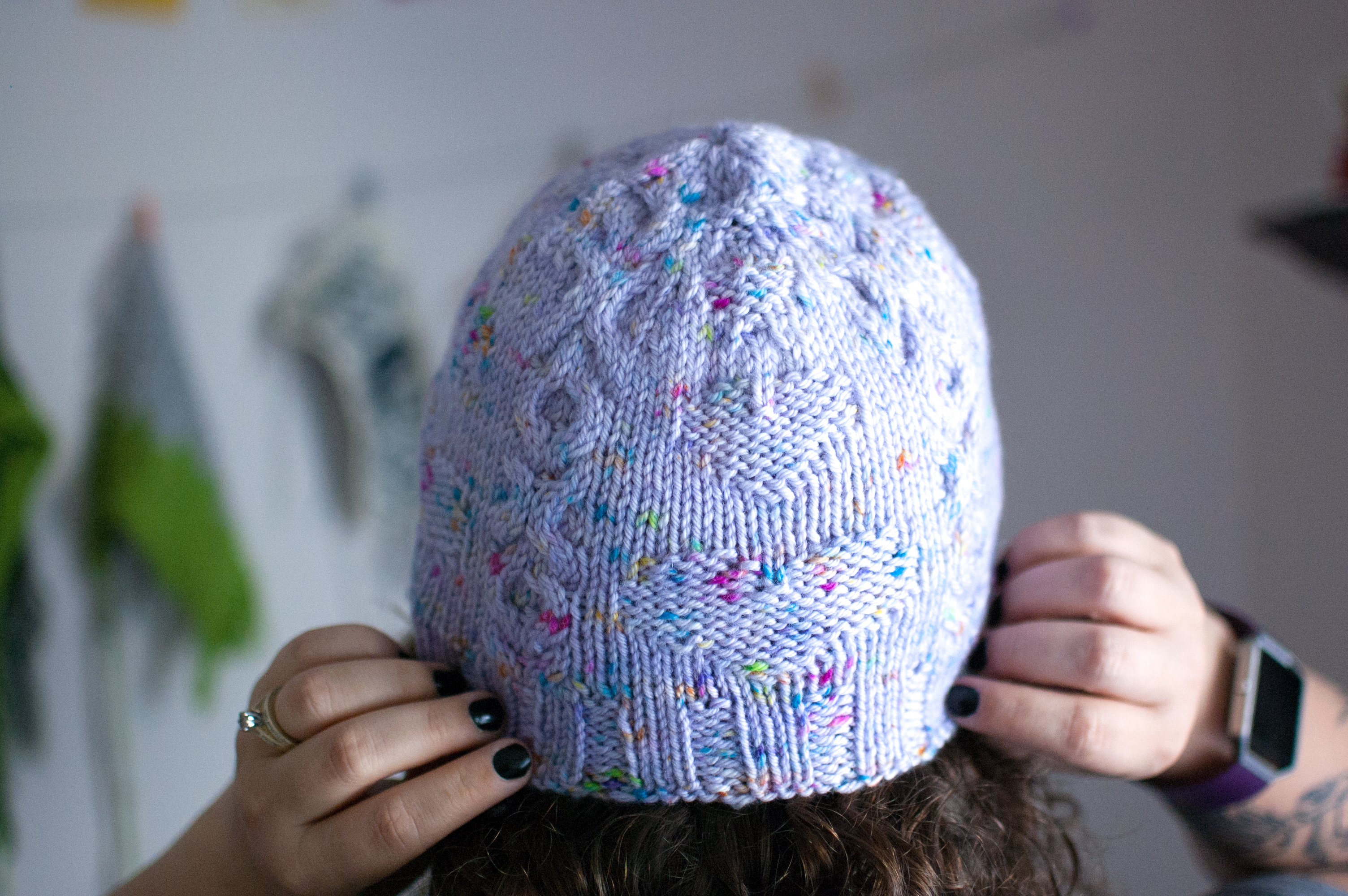 Charm Hat knitting pattern
