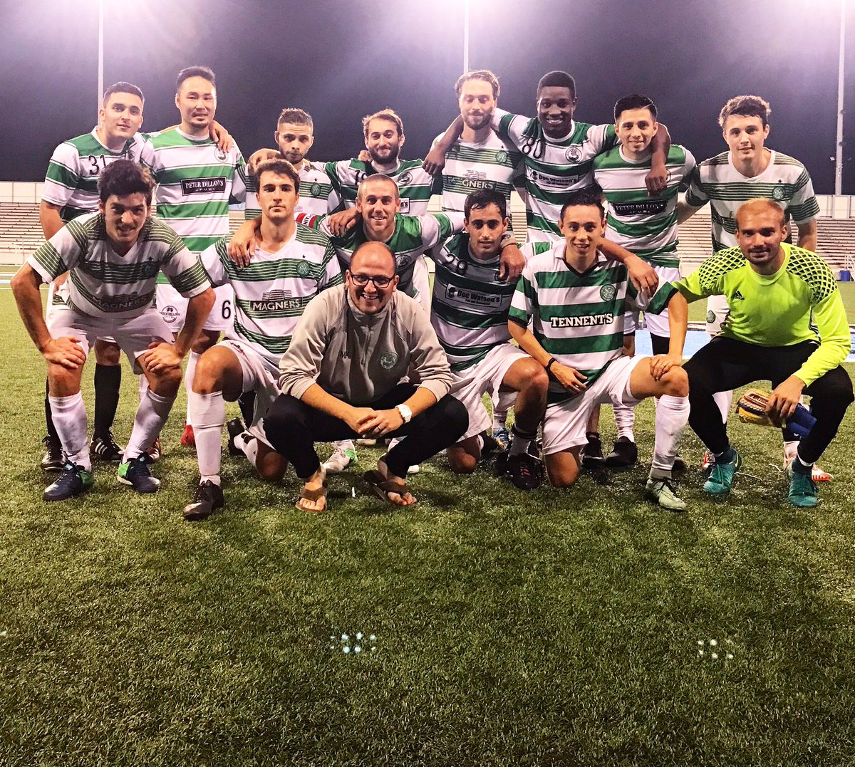 Manhattan Celtic First Team