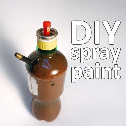 How To Make Diy Spray Paint Man Made Diy Crafts For