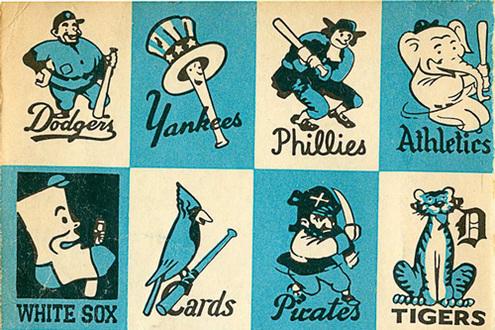 Vintage Baseball Logos 72
