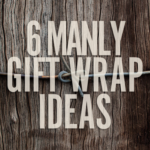 Attractive 6 DIY Gift Wrap Ideas for Men | Man Made DIY | Crafts for Men QP03