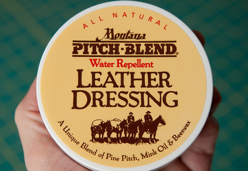 choose a leather dressing that matches your boots.