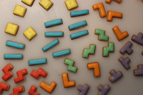 How to: Make Your Own Tetris Cookies | Man Made DIY ...