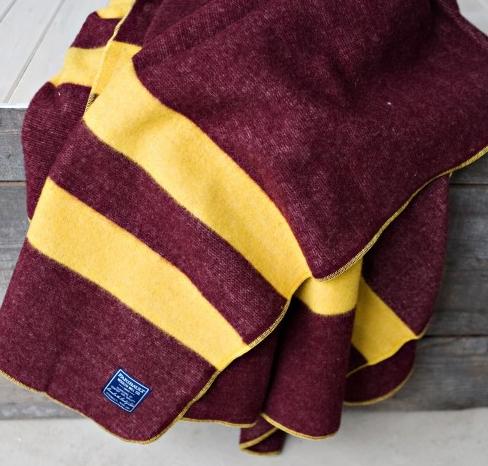 Fairibault wool blanket for men