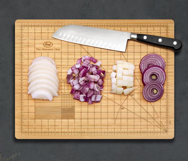 The Obsessive Chef Cutting Board