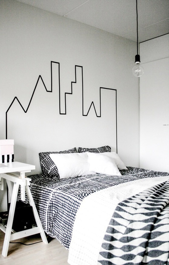 Credit: One Happy Mess [http://www.onehappymess.com/2013/04/great-idea-for-your-bedroom.html]