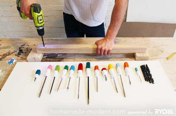 How To Make An Easy Diy Screwdriver Coat Rack Man Made