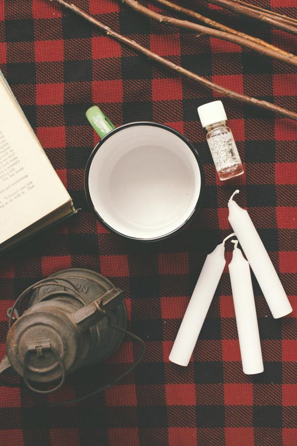 How to make a reusable homemade candle. Photos: Gabriel Cabrera