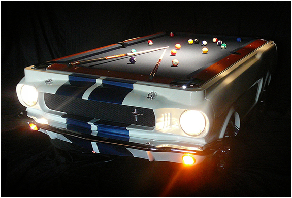 The Shelby GT 350 Pool Table