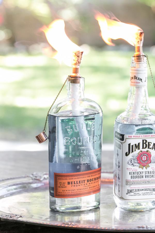 DIY Tiki Touch Bottles