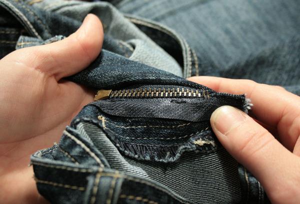 zipper after crimp