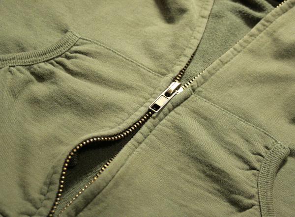 split zipper