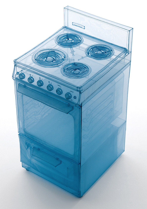 Polyester appliances by Do-Ho Suh