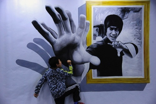 Shenyang art gallery in China