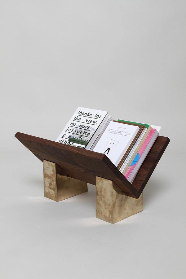 Penta-base Bookrest by TOC Studio